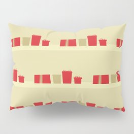 Retro Holiday Gifts Pillow Sham