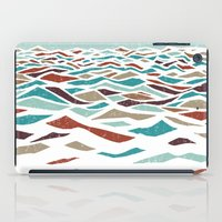 rug iPad Cases featuring Sea Recollection by Efi Tolia