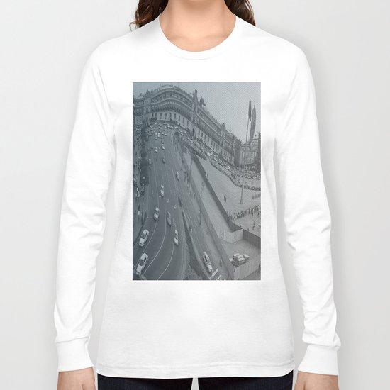 Plaza Zocalo, Mexico-city Long Sleeve T-shirt