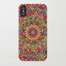 Third Eye Mandala iPhone X Slim Case