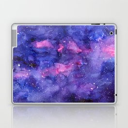 Galaxy Pattern Watercolor Laptop & iPad Skin