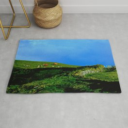 The Rolling Hills of County Clare Rug