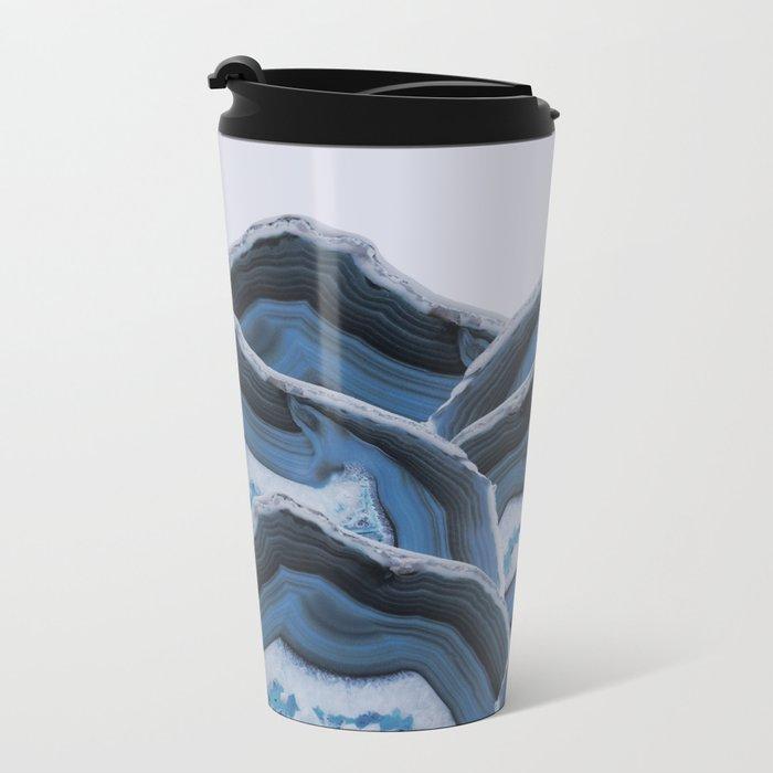 Agate Blue Mountains Metal Travel Mug
