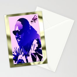 STEVIE WONDER Stationery Cards