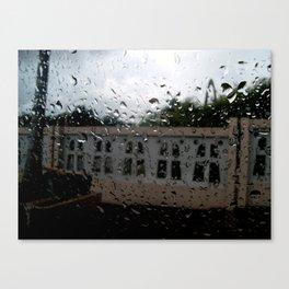 Raining at the Basilica of Higuey, Santo Domingo, DR Canvas Print