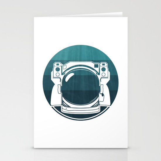 Underwater Astronaut Stationery Cards
