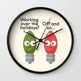 Seasonal Employment Wall Clock