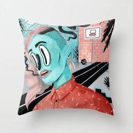 SPORTS FIELD Throw Pillow