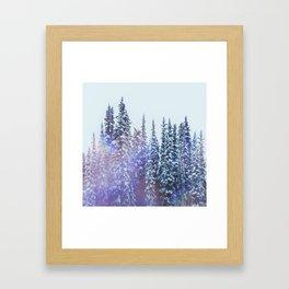 Winterscape Framed Art Print
