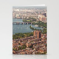 boston Stationery Cards featuring boston by shannonblue