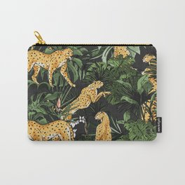 Cheetah in the wild jungle Carry-All Pouch