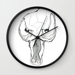 Skullz 03 Wall Clock
