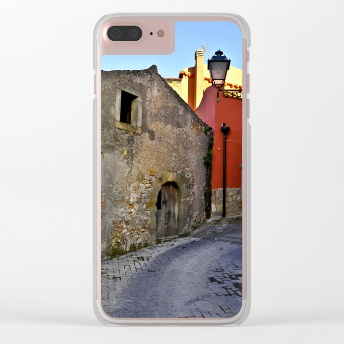 Medieval village of Sicily Clear iPhone Case