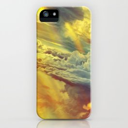 Flying in height iPhone Case