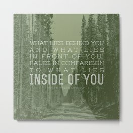 Inside of You Metal Print