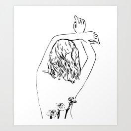 Oblivious #drawing #illustration Kunstdrucke