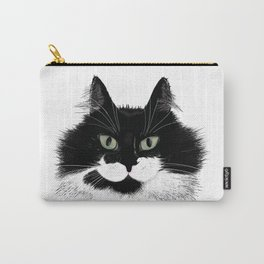 Tuxedo Cat - Full Face Carry-All Pouch