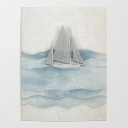 Floating Ship Poster