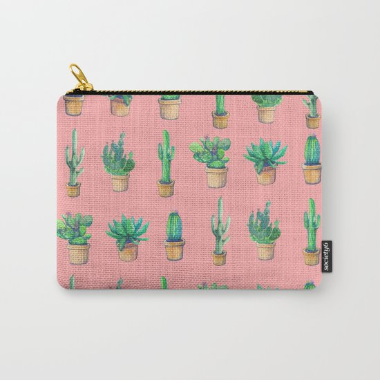 cactus pink, more cactus Carry-All Pouch
