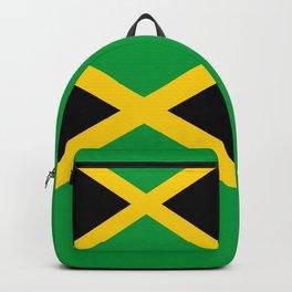 Jamaican flag, flag of Jamaica Backpack