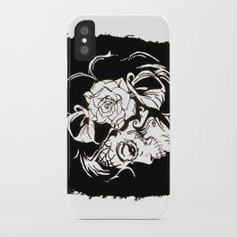 Dama De Los Muertos iPhone Case