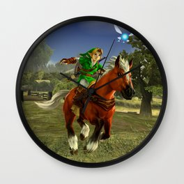 Link's Steed Wall Clock