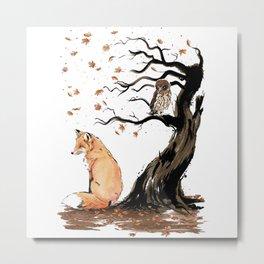 Winds of Autumn Metal Print