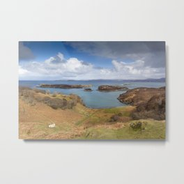 Highland Isles Metal Print