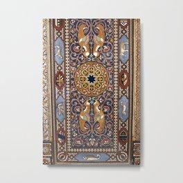 ART NOUVEAU - Giardini - Sicily Metal Print