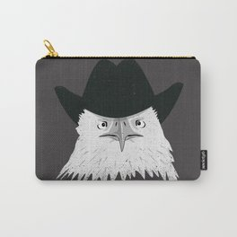 Eagle Cowboy Hipster Carry-All Pouch