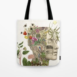 master of my own mind - anatomical art by bedelgeuse Tote Bag