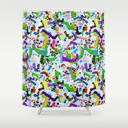 Hide and Seek Shower Curtain