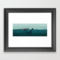 up is down I Framed Art Print