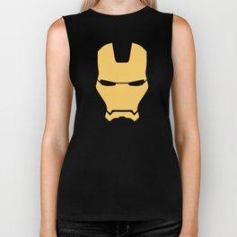 Iron Man Helmet Biker Tank