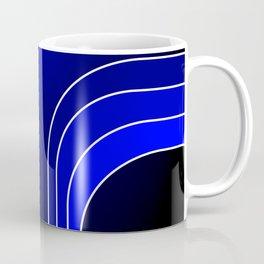 Blue Bars Coffee Mug
