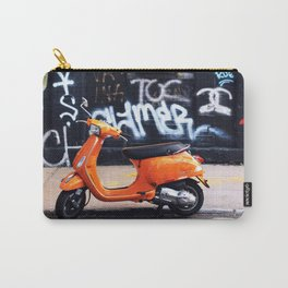 Orange Scooter Carry-All Pouch