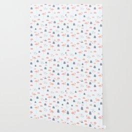 Modern Animal Pattern Wallpaper