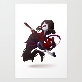 The Vamp Queen Art Print