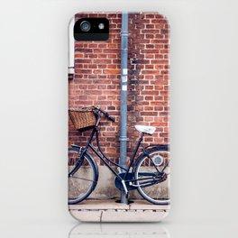 Bike and briks iPhone Case