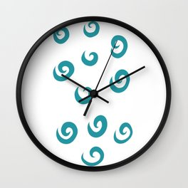 Twist Wall Clock