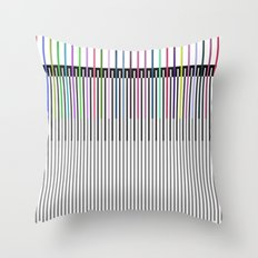 Sound Throw Pillow