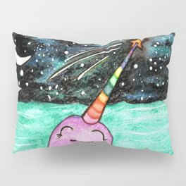 Narwhal Wish Pillow Sham
