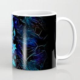 Blacklight Blossoms Coffee Mug