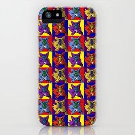 Loli 4sies: Smurf Tweety Prince & Elmo iPhone Case