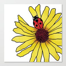 Little Lady Bug Canvas Print