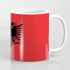 Flag Of Albania Coffee Mug