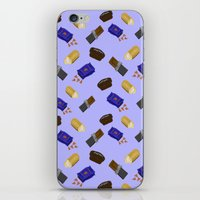 junk food iPhone & iPod Skins featuring Junk Food by Danielle Davis