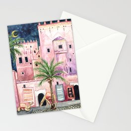 Marrakech Camels Stationery Cards