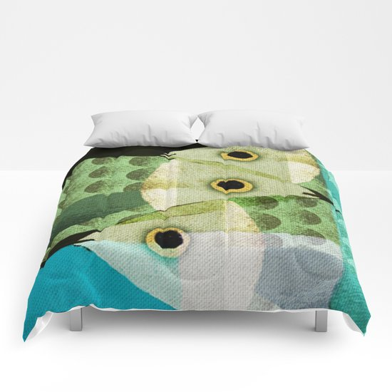 Fish Boxed Comforters