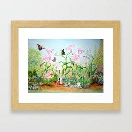 Fairy Garden#1 Framed Art Print